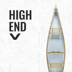 Canoe boat High End