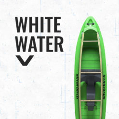 Whitewater canoe boat