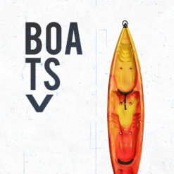 Recreational & touring Kayak Boats