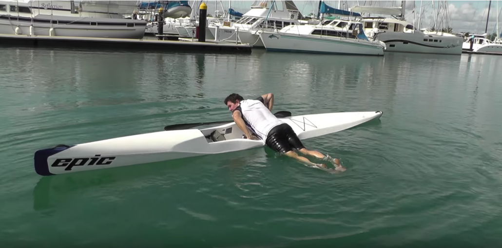 How to Surfski, Remount your Surfski After Falling Off