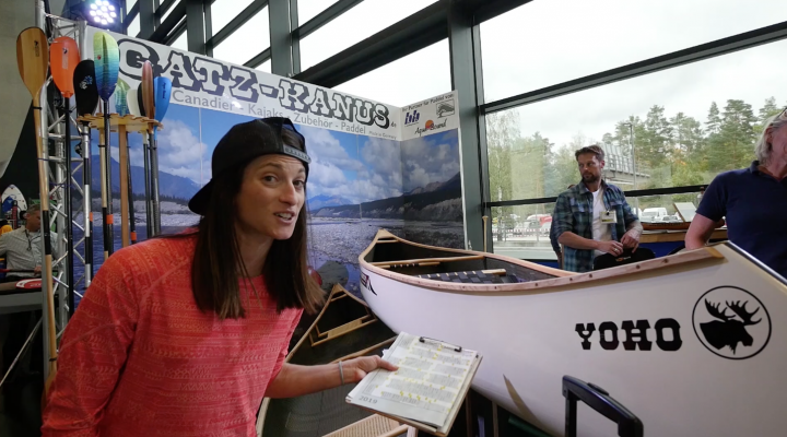 Best of canoeing with Anna Bruno at PADDLEexpo 2019.