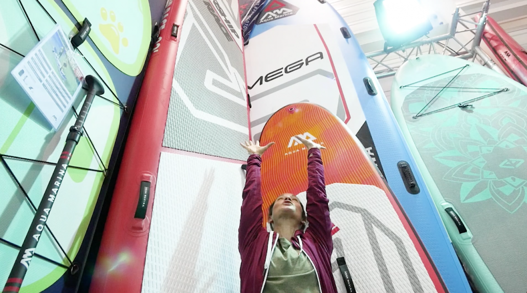Best of Stand up Paddling with Anna Bruno at PADDLEexpo 2019.