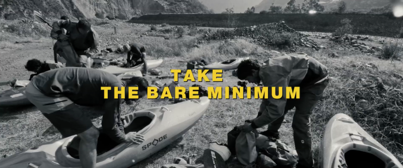 How to pack your boat for kayak expedition