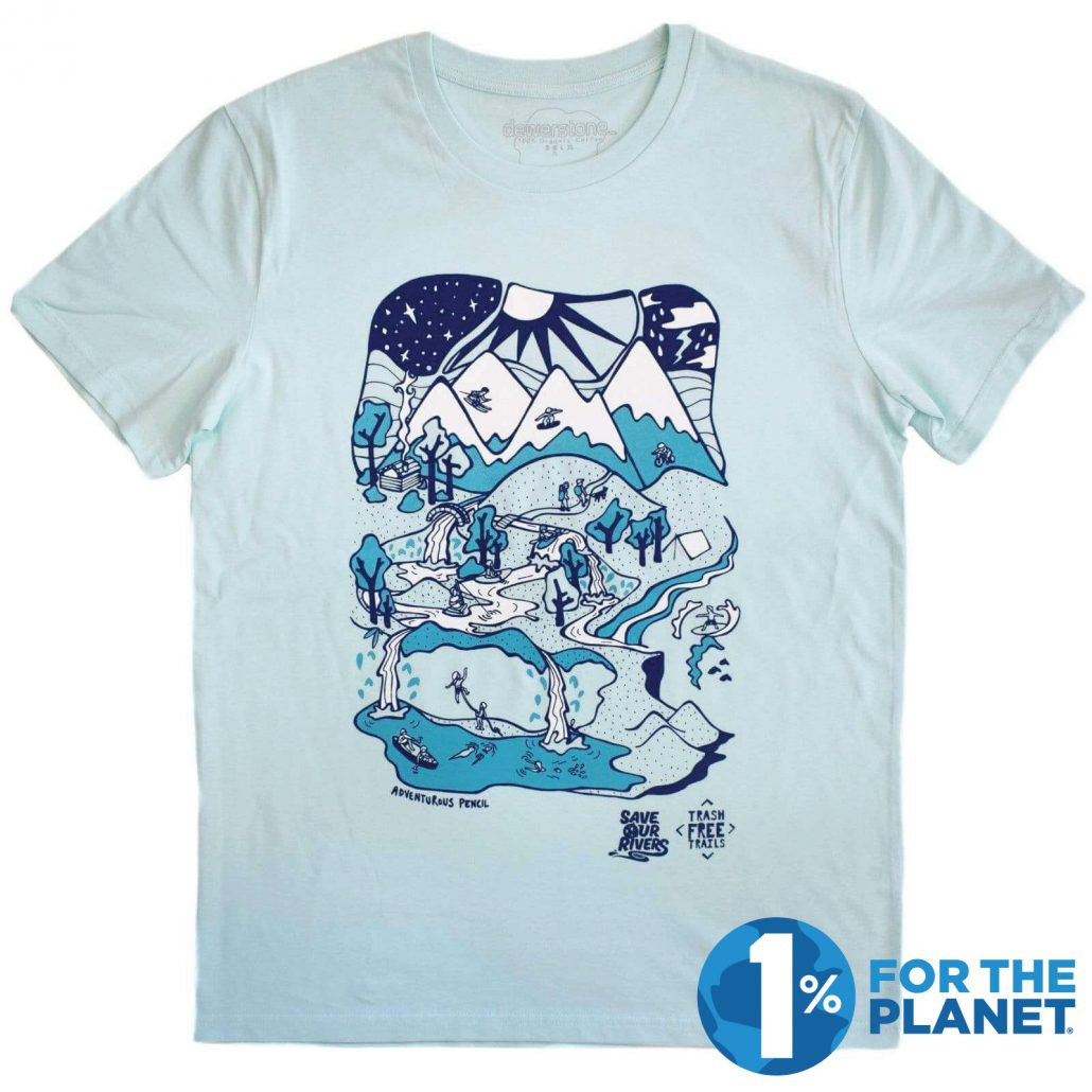 organic & vegan Tshirt by Dewerstone