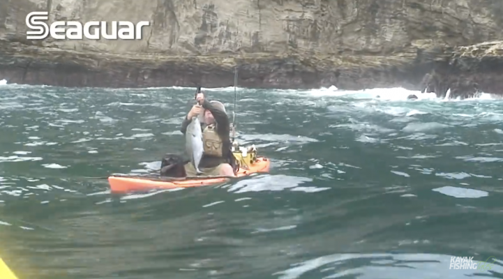 How to Kayak Fish in Rough Water
