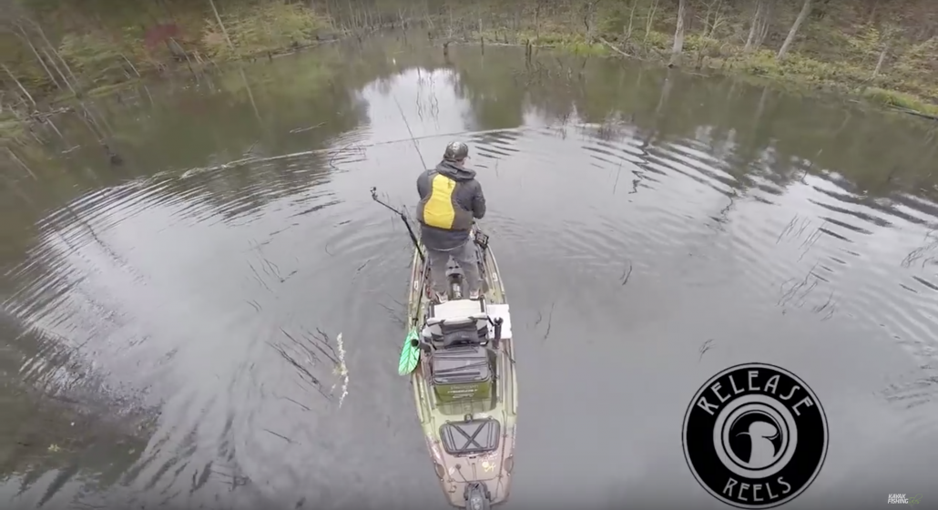 Kayak Fishing with Eric Jackson in Tennessee