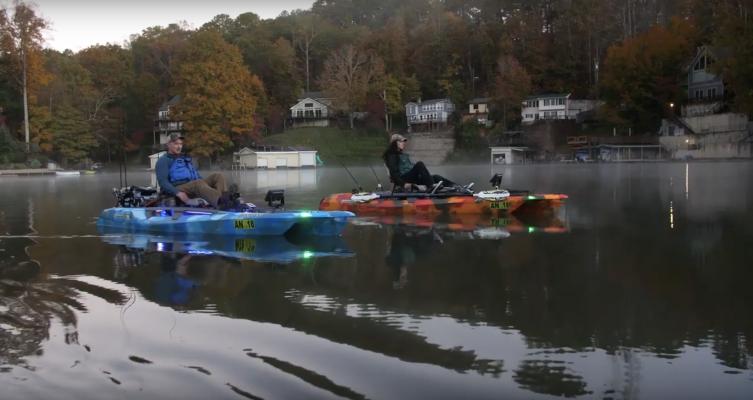Feelfree Kayaks - Fishing Lake Lure on the Dorado