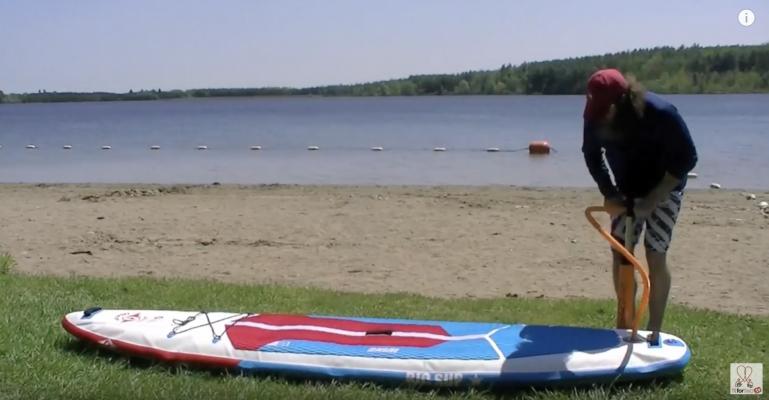 How to Inflate Your Stand Up Paddle Board - 10 Easy Steps