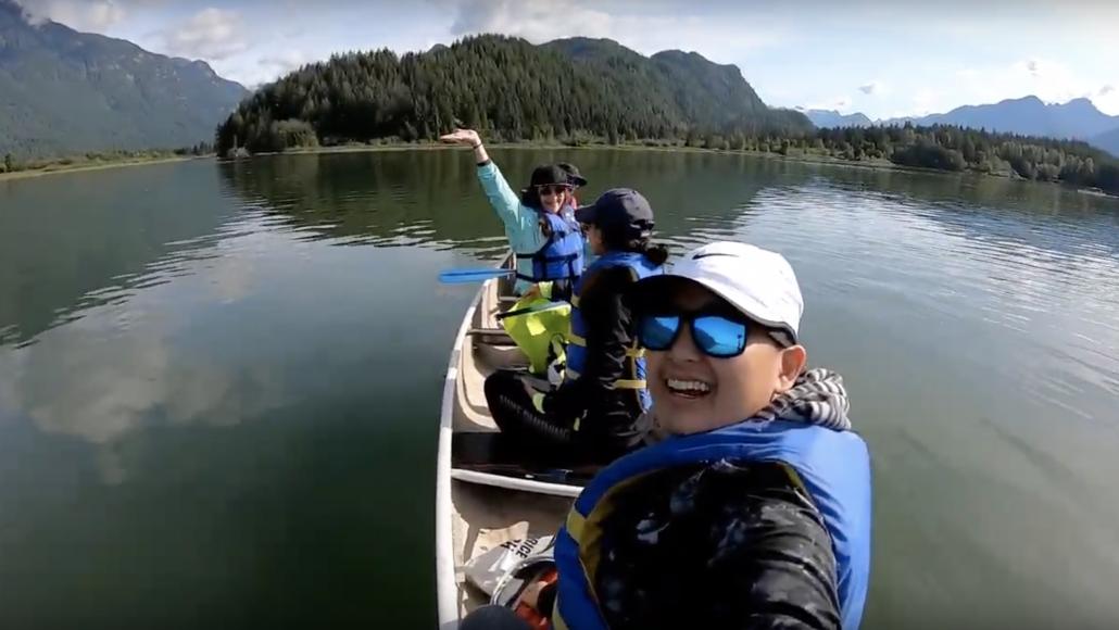 Canoeing Widgeon Creek