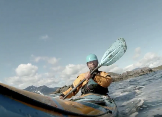 Nootka Sound - solo ocean sea kayaking -