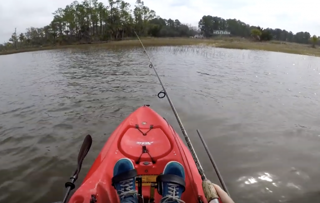 HOBIE OUTBACK KAYAK FISHING
