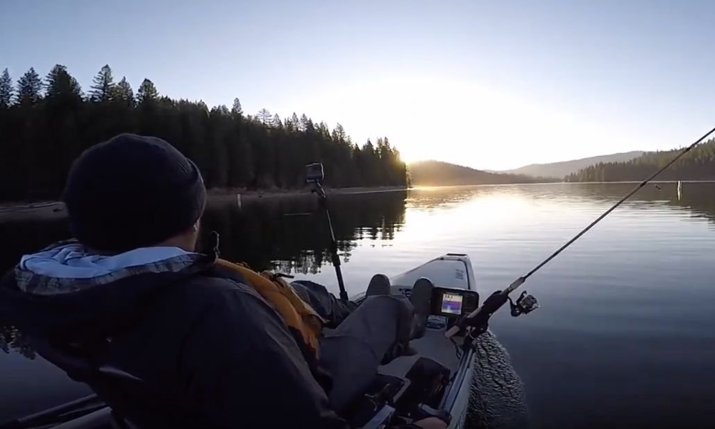Traveling to a SECLUDED LAKE Kayak Fishing for Large Trout