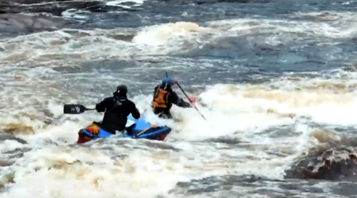 Canoe and kayak adventure film in N.L.