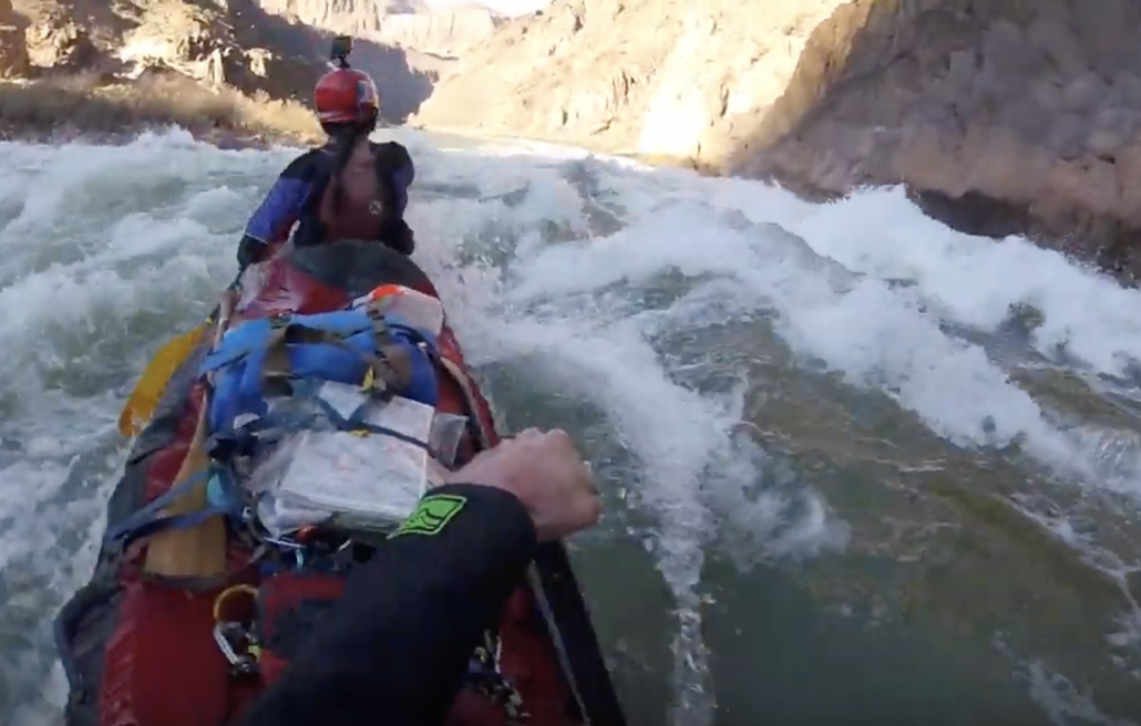 Canoeing the Grand Canyon