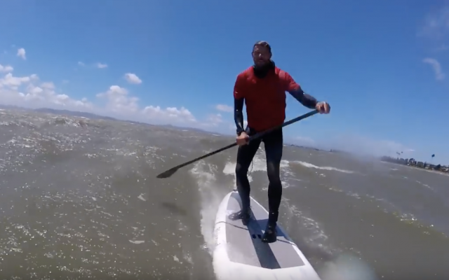 How to Downwind SUP