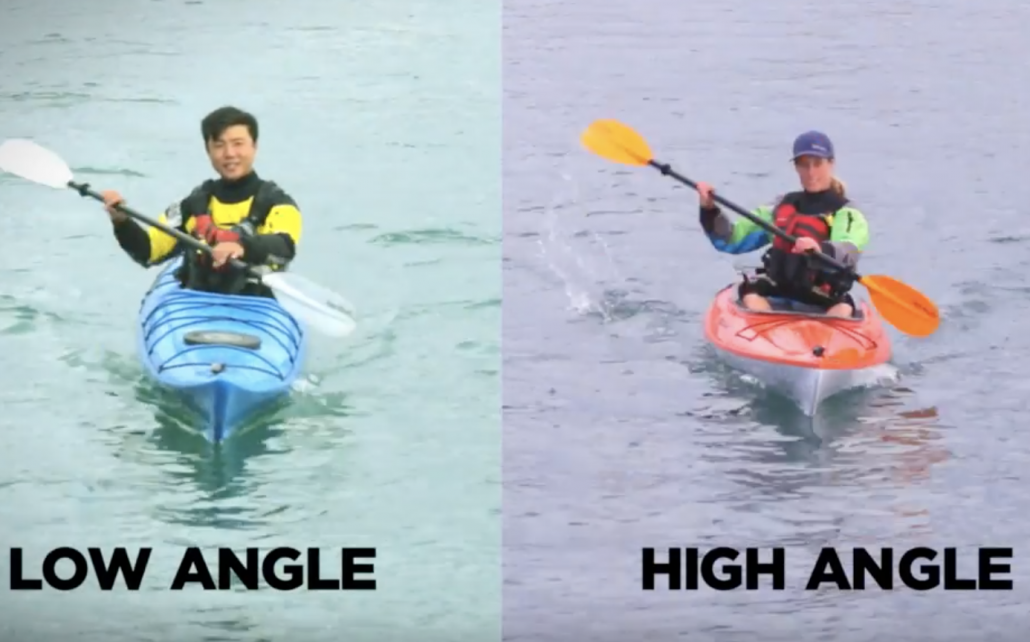 How to Choose a Recreational Paddling Style - Low vs High Angle