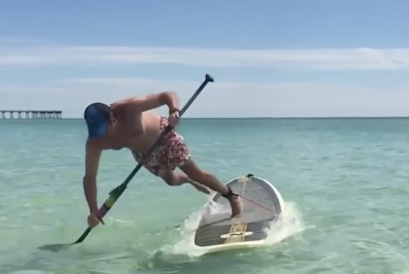 People VS Paddle boards