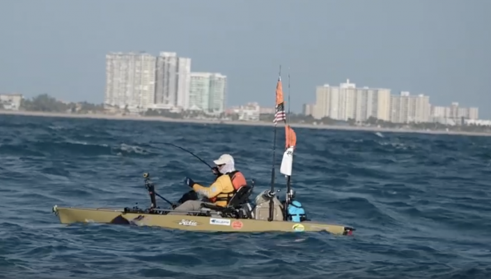 RECORD BREAKING EXTREME KAYAK SAILFISH SMACKDOWN!