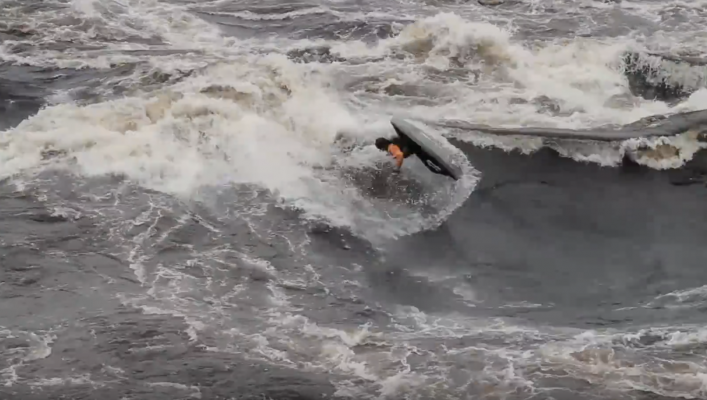 UNLEASHED | Stage 4 - Molly big wave Freestyle