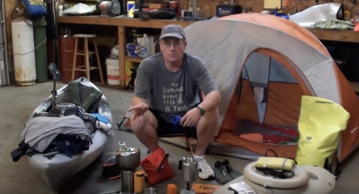 KAYAK CAMPING GEAR, MUST SEE IF YOU LIKE KAYAKING ADVENTURES
