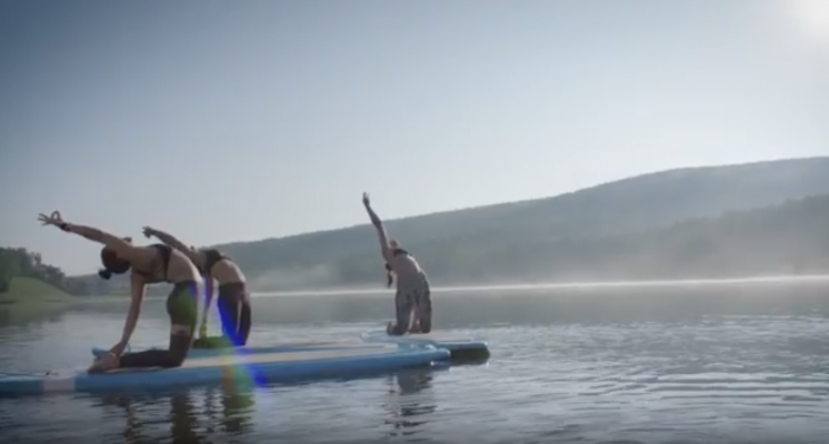 Stand Up Paddle Yoga, Aqua Flow Fit