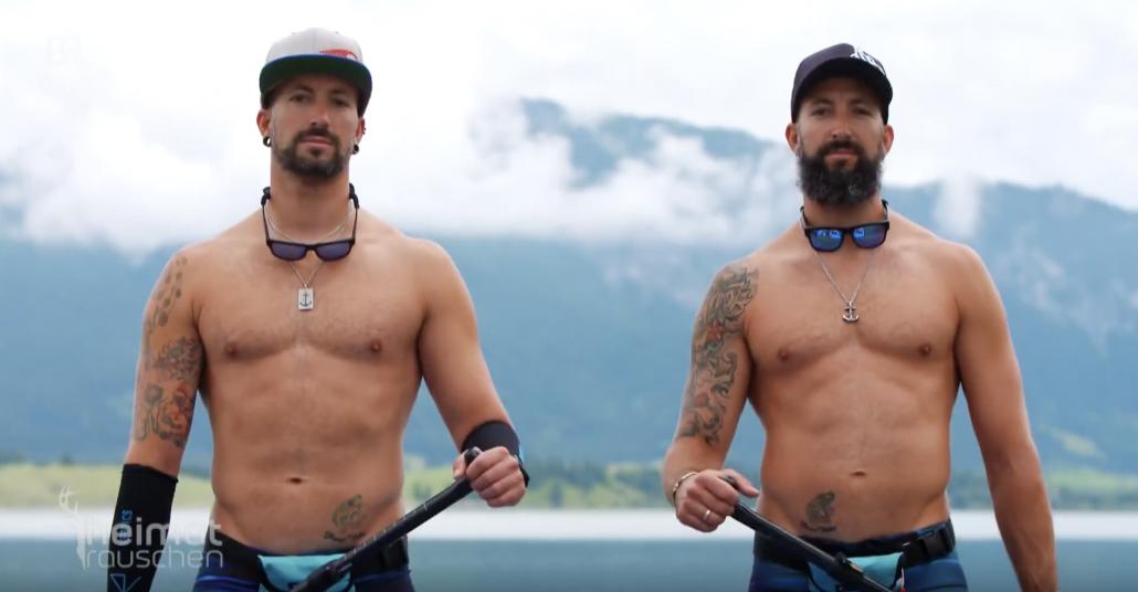 Extremsport SUP - Stand Up Paddling - Wassersport extrem
