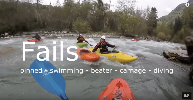 Kayak fail compilation - pinned carnage beaters and swimming