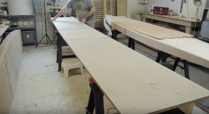 Boardman 14 SUP Construction Video #1: Setting Up Your Workspace