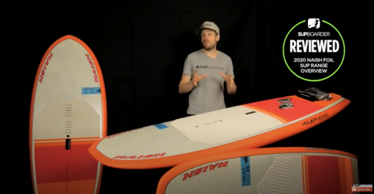 We look at the 2020 Naish SUP foil range