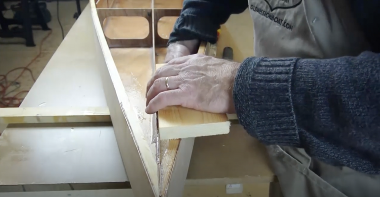 Boardman 14 SUP Construction Video #16: Installing the Bow Block