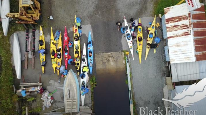 Georgian Bay Sea Kayaking with Black Feather - Slideshow