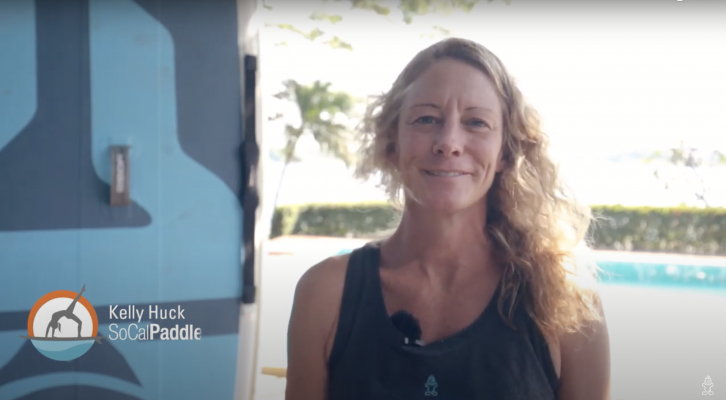 How to SUP Yoga Headstand with Kelly Huck | SoCal Paddle Yoga