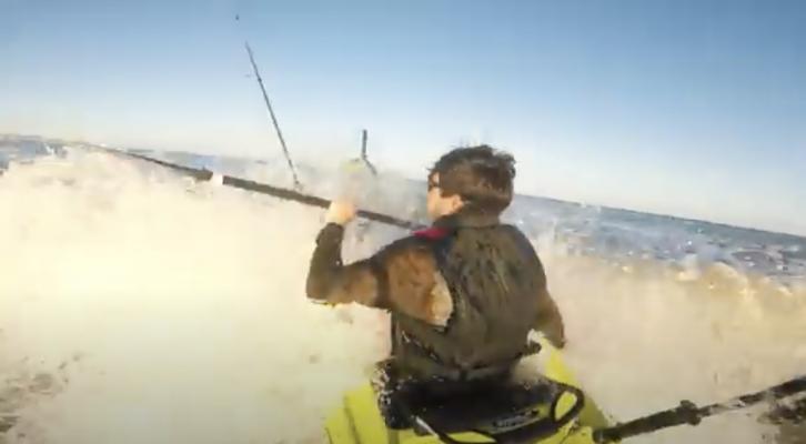 Kayak Fishing Fails by Braden Sherron