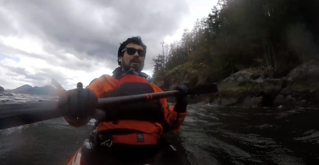 An overnight trip sea kayaking in Howe Sound April 2020.