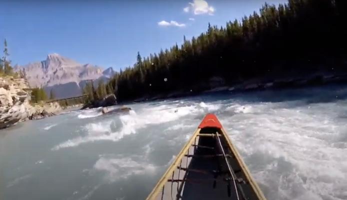 Canoeing The North Saskatchewan River - Rampart Creek To Saskatchewan Crossing