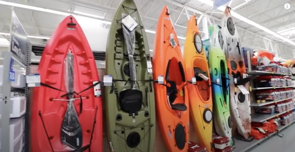 Buying FIRST KAYAK on a WALMART budget!!!! on the WATER REVIEW