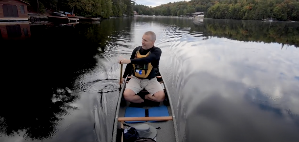 September Solo - Canoeing and Photography in the Algonquin backcountry - New Swift Keewaydin Carbon
