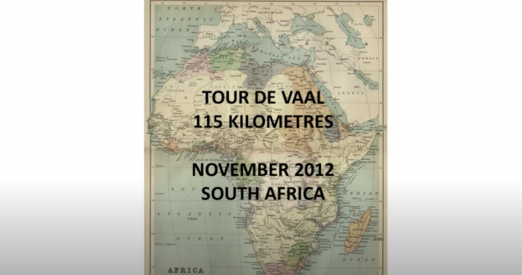 Kayak fishing adventure South Africa (Tour de Vaal)