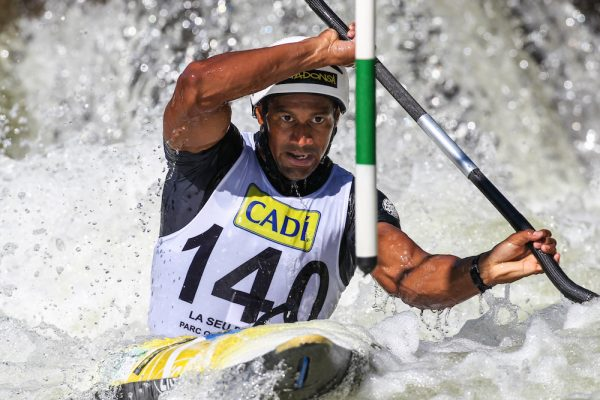 Togo's first ever Olympic medallist, Benjamin Boukpeti is one of the numerous athletes supporting of the historic partnership between the ICF (International Canoe Federation) and the international non-profit Peaceandsport.