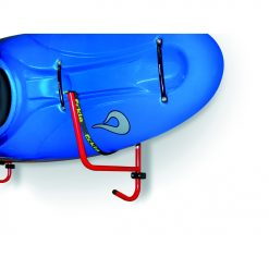 Kayak wall-support with strap, turnable, includes fixing set.