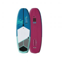 This composite foilboard is a perfect Hybrid board designed for SUP foiling, wing foiling and even surfing.