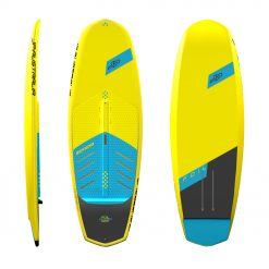 Werner has developed dedicated foil shapes with great input from Keahi. The boards are short for reduced swing weight during pumping and maneuvers.