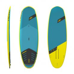 """The Foil Slate is a top choice of the riders and the most flexible board in the market at the same time! For this reason, our shape was awarded the """"SUP Paddlesports of the Year 2020"""" at the PaddleExpo 2020, the biggest trade fair of paddle sports in the world. Werner Gnigler created this great shape for those who wanted to have an all-in-one water sports board."""