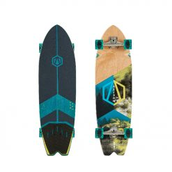 The FOREST 34 offers a short and wide deck range that is specially designed for smaller to medium size skaters. Built with 5+2 layers (rock maple and Canadian Maple Wood), this board is durable yet budget friendly.