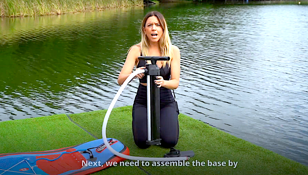 How to Inflate an Inflatable Paddle Board