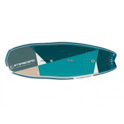 This board is Starboard's best seller. The Hyper Nut offers the stability from a larger board and performance of a smaller board. This paddle board is a new found love in every quiver, it offers excitement to the most mediocre conditions.