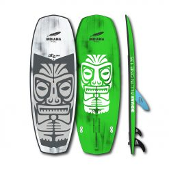 The All In One 135 can be SUP surfed, Wing surfed, Wind surfed, SUP foiled, wing foiled and also wind foiled. It is an unbelievable All-in-One board. The generous volume and the wide, straight rear bring you into the lineup easily and safely back ashore.