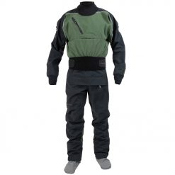 The Icon rear-entry dry suit pushes the upper limits of dry suit performance, designed to take a beating and keep you dry. Made with the latest GORE-TEX PRO material that is lighter weight, more rugged and durable. The rear entry flexible nylon waterproof zipper moves comfortably with the paddler in the most difficult moves.