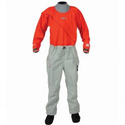 The Legacy dry suit is the new foundation of Kokatat's dry suit collection. The front-entry design Legacy features the new GORE-TEX PRO material that Kokatat developed with GORE-TEX for suits that are lighter weight, more rugged and durable. The suit also features an adjustable bungee drawstring waist, nylon waterproof zippers, latex gaskets with neoprene punch through neck and neoprene lined adjustable wrist cuffs, and a streamlined leg pattern.