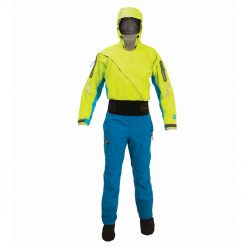 A pinnacle product for serious touring and sea kayakers, Kokatat's Odyssey Dry Suit is updated for this year with the latest GORE-TEX PRO material that is lighter weight, more rugged and durable. It features everything you need for your kayak adventure.